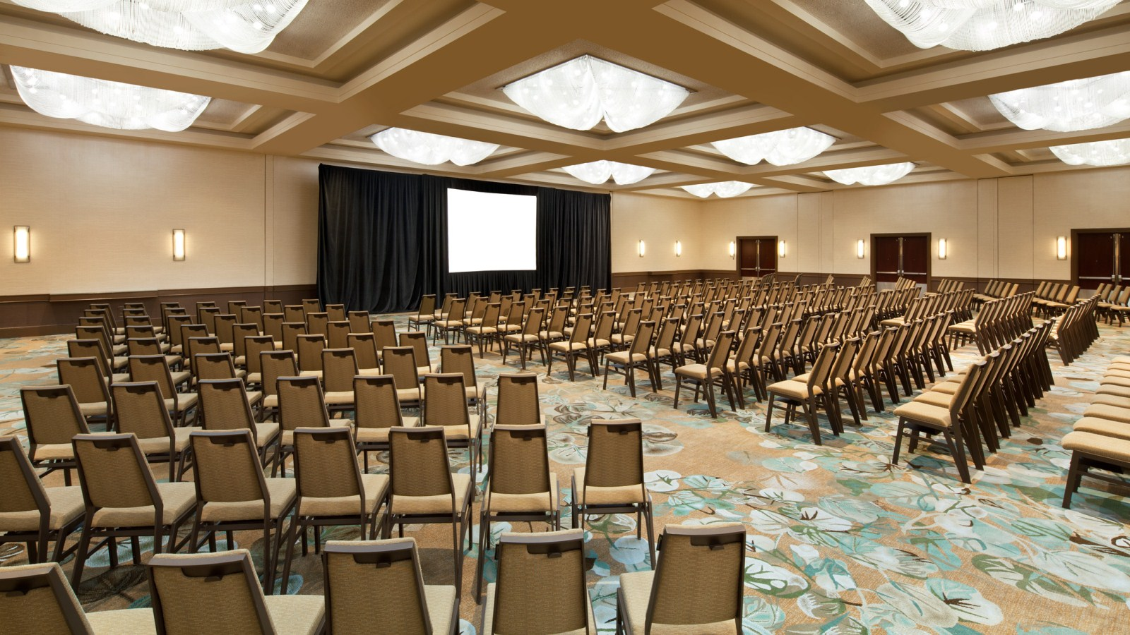 The Westin San Francisco Airport | Ballroom Theater Set-Up