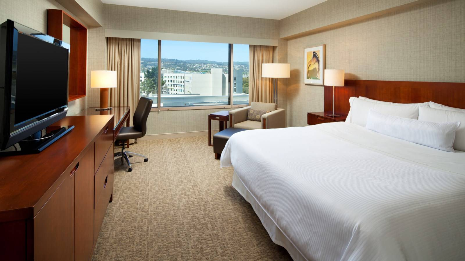 Room Features at The Westin San Francisco Airport Hotel