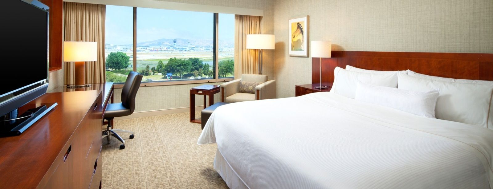 The Westin San Francisco Airport Hotel – Deluxe Room